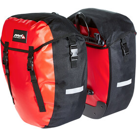 Red Cycling Products Urban Twin Dubbele Bagagedragertas, red